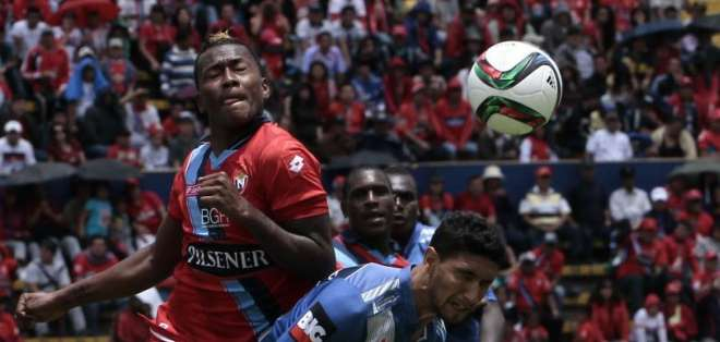 QUITO, Ecuador.- El cuadro millonario quedó 1-1 ante El Nacional, en el último cotejo de la mano de Quinteros. Fotos: API
