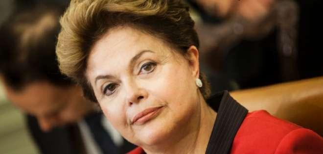 BRASIL.- La mandataria reaccionó así tras la protesta masiva ocurrida en 83 ciudades de su país. Fotos: Web y EFE