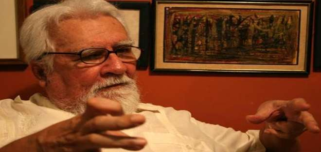GUAYAQUIL.- El escritor ecuatoriano tenía 83 años y deja un sinnúmero de obras destacadas. Fotos: Web