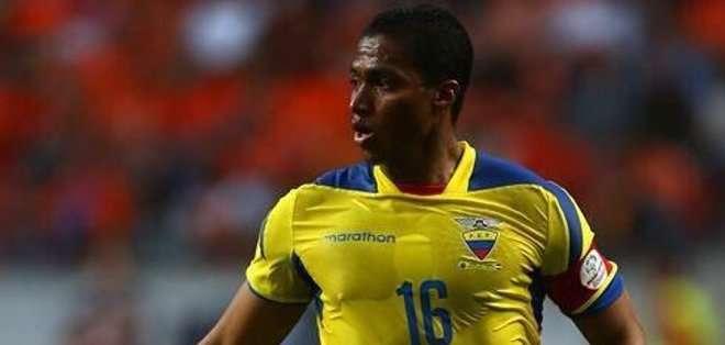 Antonio Valencia vuelve a la selección.