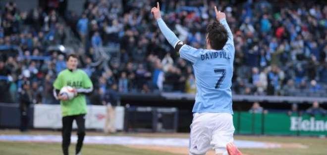 La alegría del español tras su golazo con el equipo de Nueva York (Foto: Nycfc.com)