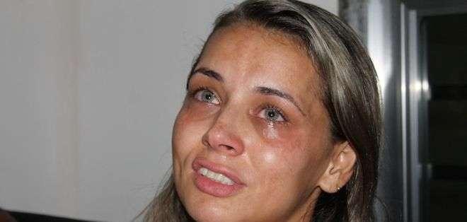"""Milene Carvalho recuerda a su hija de 4 años, muerta por una bala perdida en Río, y reflexiona: """"Si viviésemos en otro lugar...""""."""