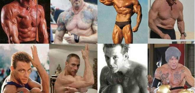 Arnold Schwarzenegger y Sylvester Stallone forman parte de esta lista.