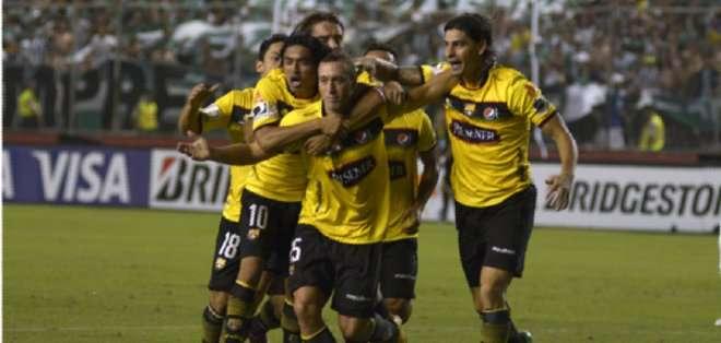 Barcelona no ha ganado ni un punto en esta edición de Copa Libertadores. Foto: API.