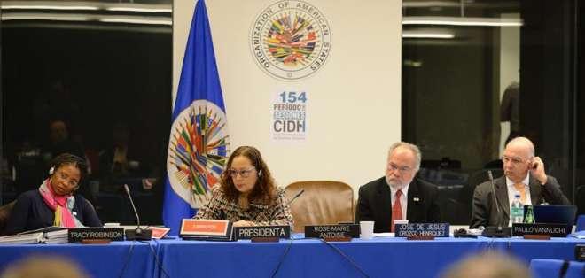 El Estado ecuatoriano no asistió por cuarta ocasión a las audiencias de la CIDH. Foto: EFE