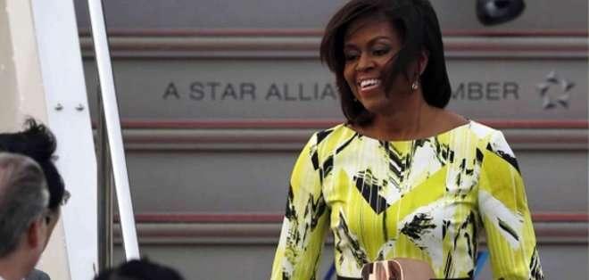 Uno de los objetivos de la visita de Michelle Obama es reafirmar la importancia acordada por ambos países a la educación, especialmente de las niñas, en todo el mundo.