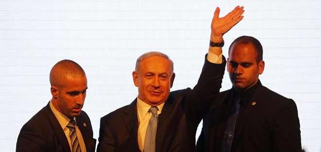 ISRAEL. Con el 99 por ciento de los sufragios escrutados, su formación conservadora se hizo con 30 de los 120 escaños del Parlamento (Kneset), seis por delante del Campo Sionista. Fotos: EFE