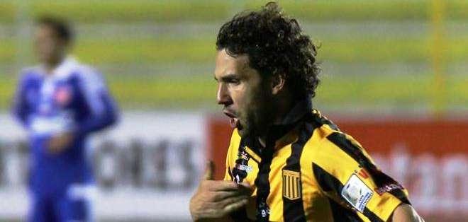 Fernando Martelli, otro de los anotadores por parte de The Strongest (Foto: EFE)