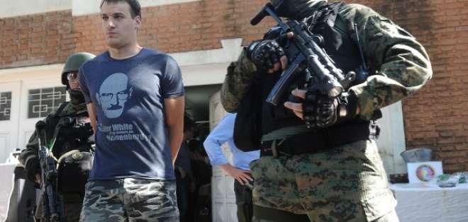 Fueron detenidas 13 personas y se incautaron 30.000 dosis de éxtasis en su poder en el operativo.