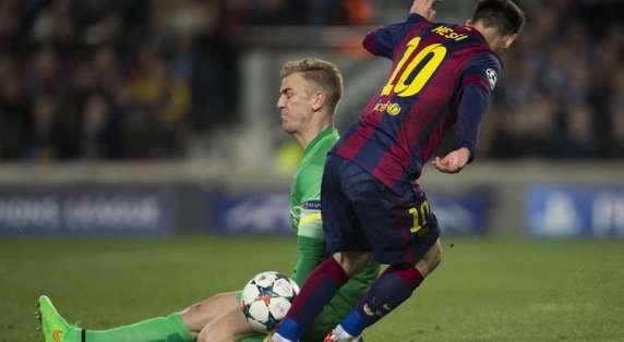 Messi brilló pero le faltó el gol. Foto: EFE.
