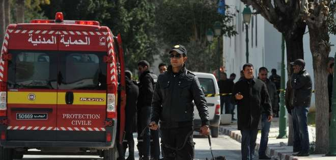 TÚNEZ. El ataque, que duró unas cuatro horas, aún no ha sido reivindicado. Fotos: AFP