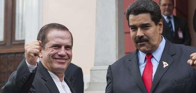 VENEZUELA.- El canciller Ricardo Patiño actuará como mediador entre los gobiernos de Venezuela y Estados Unidos. Fotos: EFE