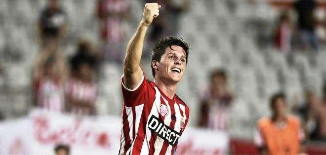 Guido Carrillo celebra el gol del triunfo (Foto: EFE)
