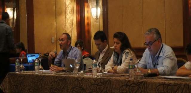 ECUADOR, Guayaquil.- En el segundo dia se dio un conversatorio, recomendaciones y el anuncio de becas a Israel . Fotos: Ecuavisa