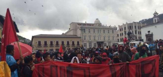 La marcha denominada #19M se opone a varias políticas gubernamentales. Fotos: Jacqueline Rodas