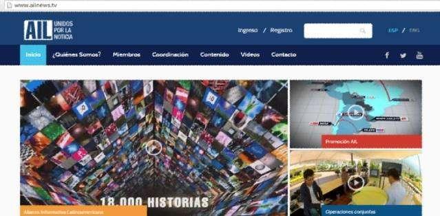 GUAYAQUIL, Ecuador.- El lanzamiento de la página se efectuó en el marco de la IX Asamblea de la AIL 2015, en Guayaquil.