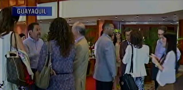 GUAYAQUIL.- Representantes de 22 canales latinoamericanos se reunieron en Guayaquil para tratar diversos temas. Fotos: Captura.