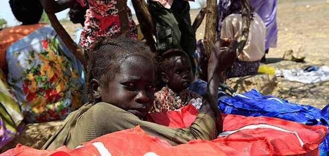 SUDÁN DEL SUR.  Desde el inicio de la guerra civil en el país en diciembre de 2013, Unicef calcula que cerca de 12.000 niños han sido enrolados a la fuerza. Fotos: Archivo
