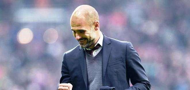 Guardiola, el entrenador del Bayern Múnich alemán (Foto: EFE)
