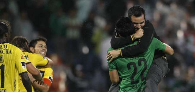 Barcelona sigue vivo en Libertadores. Foto: EFE.