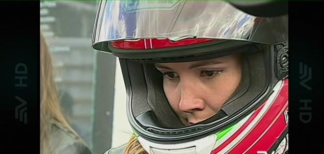 "Dallyana Passailaigue participó de una de las válidas del torneo nacional de ""Superbike""."