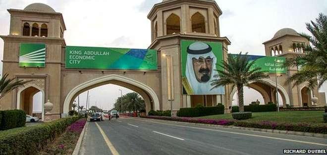 El rey Abdalá, quien falleció recientemente, fue un gran impulsor de las llamadas ciudades económicas.