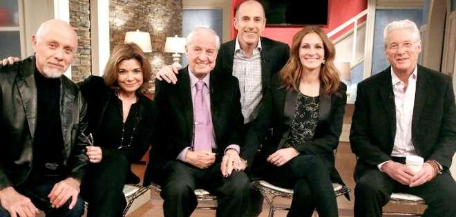 """EE.UU.- El elenco se reunió en el programa """"Today"""" para celebrar los 25 años de la película.  Fotos: Web"""