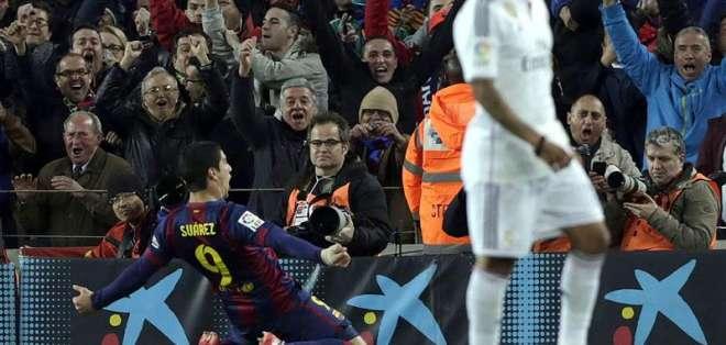 Barcelona ganó el partido con marcador de 2-1. Foto: EFE.