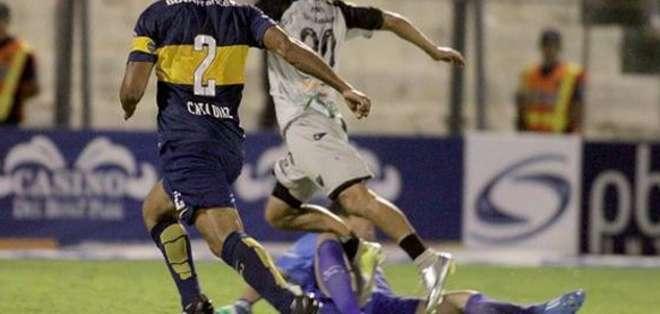 En la imagen se observa claramente la fractura. Foto: Diario Clarín.