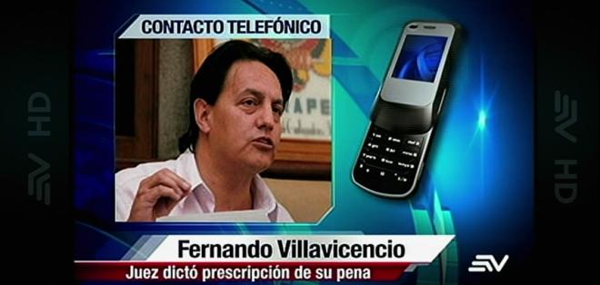 Fernando Villavicencio y Cléver Jiménez están viajando hacia Quito para dar una declaración.