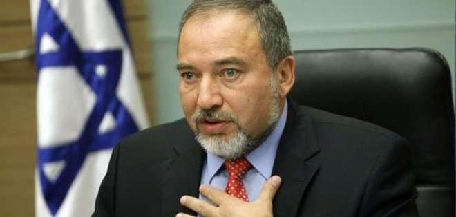 """Lieberman dijo que """"obviamente Israel tiene diferentes intereses de seguridad (que EEUU) y tenemos un buen servicio de inteligencia"""", pero reiteró que su país """"no se dedica al espionaje contra EEUU"""". Fotos: EFE"""