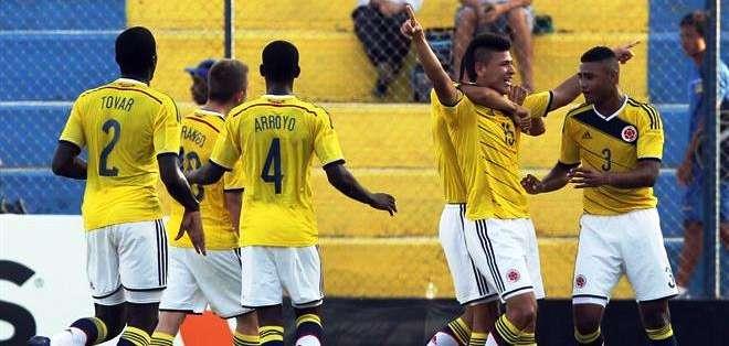 Colombia se había puesto adelante en el marcador (Foto: EFE)