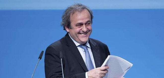Michel Platini, seguirá al mando de la UEFA (Foto: EFE)