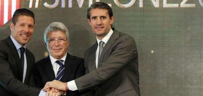 Simeone es un símbolo del club.