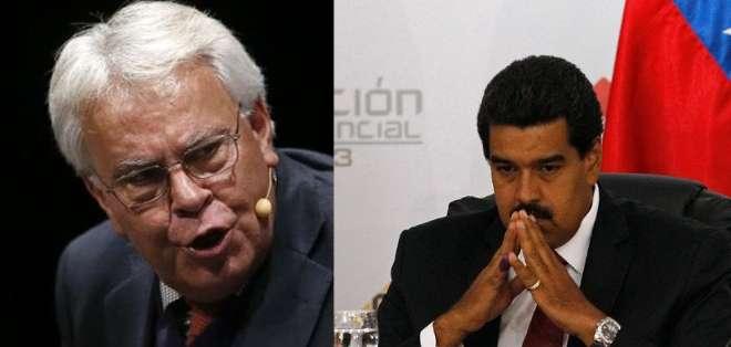 """""""La cantidad de muertos que hay en Venezuela se corresponde más a una situación de guerra que a una situación de normalidad"""", dijo el exjefe del gobierno Español."""