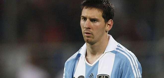 Messi no jugaría ante Ecuador.