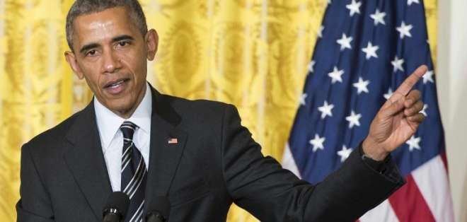 Obama anunció su intención de revaluar su postura sobre Israel ante la ONU. Foto: AFP