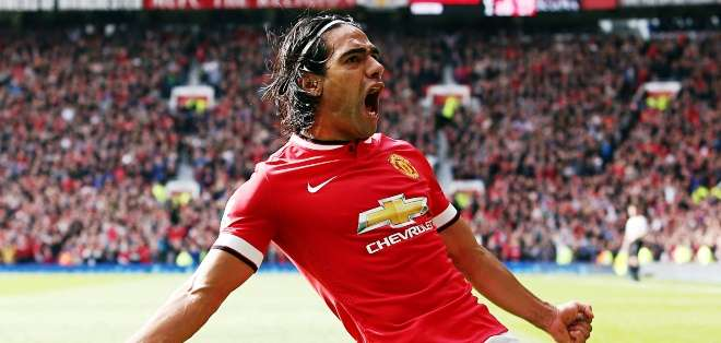 Radamel Falcao, jugador del Manchester United (Foto: Internet)