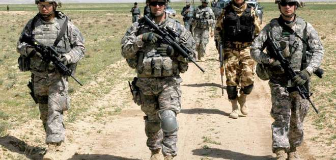 Estados Unidos espera reducir considerablemente su personal militar hasta 2016.
