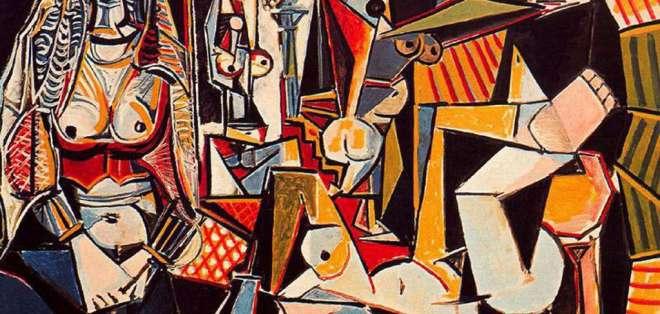 """""""Les Femmes d'Alger (Versión 'O')"""", de Pablo Picasso podría alcanzar los 140 millones de dólares. Foto: WikiArt"""