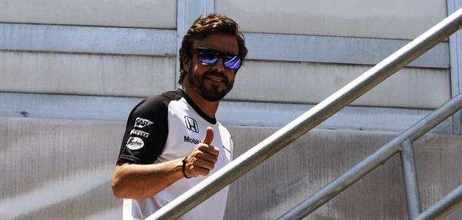 Fernando Alonso, ya se encuentra en Malasia (Foto: EFE)