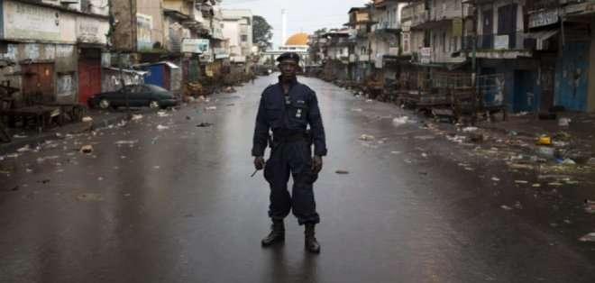 Sierra Leona ha registrado hasta el momento un total de 11.751 casos de ébola, según la OMS.