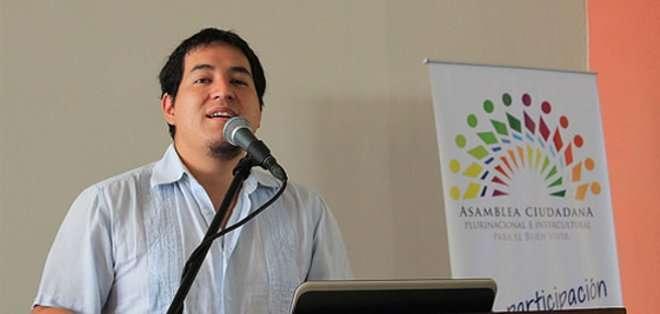 Ministro de Conocimiento y Talento Humano, Andrés Arauz.