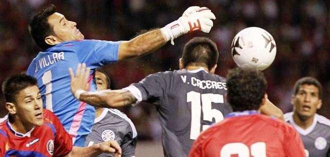 Paraguay y Costa Rica empataron en partido amistoso (Foto: EFE)