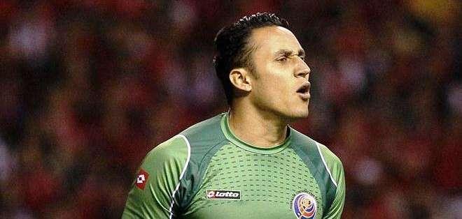 El portero Keylor Navas de la selección de Costa Rica (Foto: EFE)