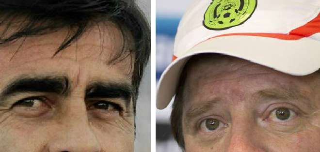 Ecuador y México jugarán mañana un partido amistoso en Los Ángeles a las 19:30. Foto: EFE