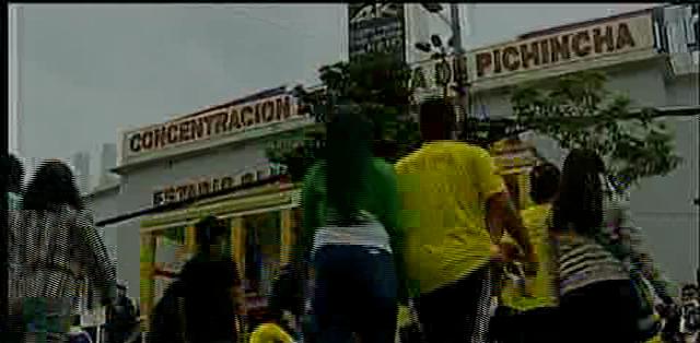 QUITO.- En el sitio se jugarán dos partidos por el campeonato ecuatoriano. Fotos: Capture.