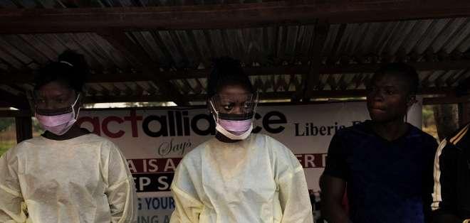 La epidemia de ébola en África Occidental, la más grave desde la identificación del virus en 1976, surgió en diciembre de 2013. Foto: AFP.