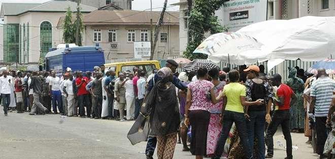 NIGERIA.- El insurgente Haram cumplió la amenaza sobre sabotear estas elecciones. EFE