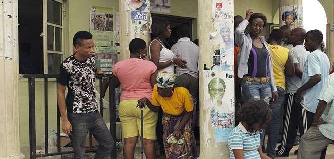 NIGERIA.- El insurgente Haram cumplió la amenaza sobre no permitir estas elecciones. Fotos: EFE